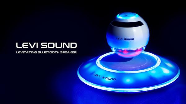 LEVI SOUND   The Levitating Bluetooth Speaker