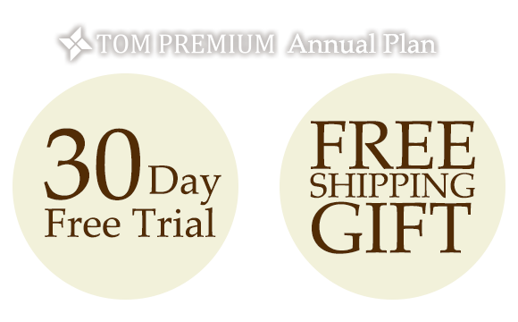 TOM Premium Annual Plan