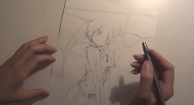 "Try to Draw ""BLACK★ROCK SHOOTER""!"
