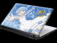 """Attack!! Squid Girl"" Notebook PC"
