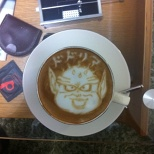DRAGON BALL Latte art! (2/8)