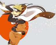 NARUTO with theme color