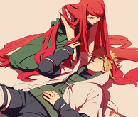 Minato and Kushina from NARUTO