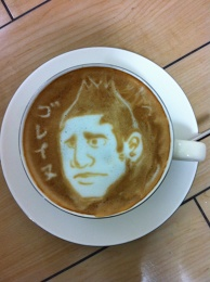 Amazing Latte art!