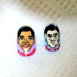Obama and Romney Nail Art! (16/18)