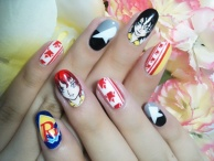 The Prince of Tennis and Rikkaidai Nail Art!!!!