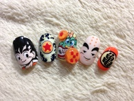 Dragon Ball Nails☆