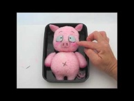 How to Make Haru (Pink Pig) from Accel World
