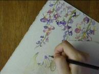 Watercolor painting [水彩メイキング] 09/06/25