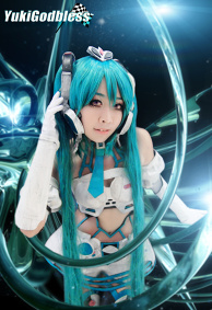 Miku  Racing  queen  2012 Cosplay