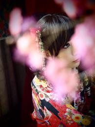 Kimono Girl Cosplay