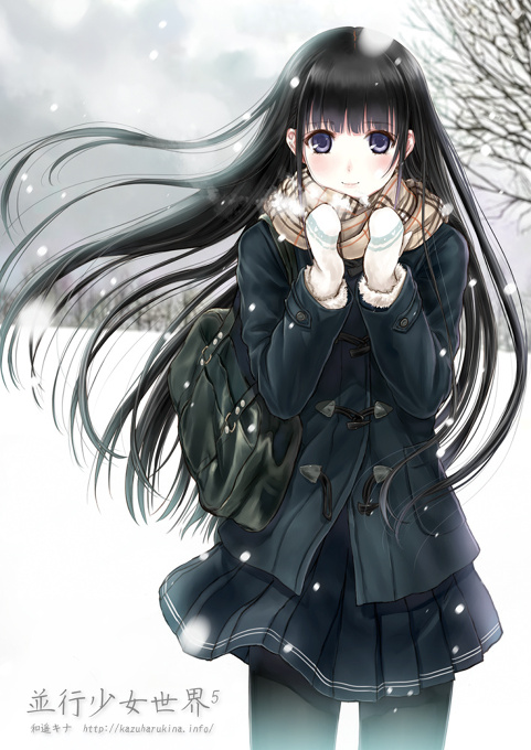 Anime Lonely Winter The Words that ...