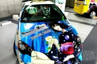 Huge Gathering of Cool Itasha