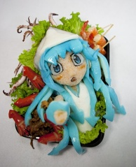 Squid Girl Bento