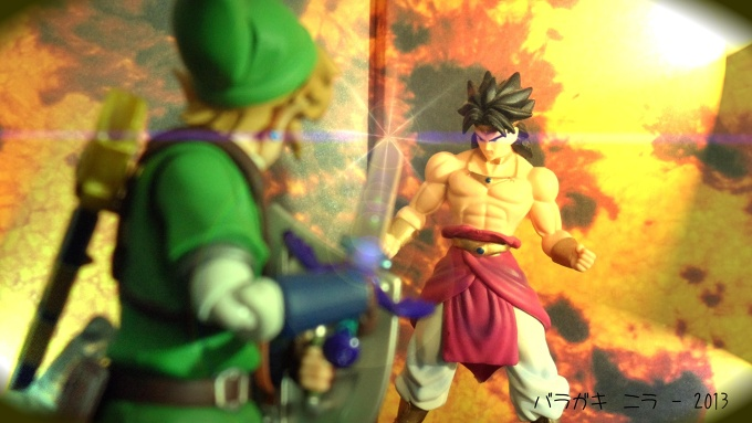Link vs Broly ! Who's gonna win? :)