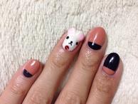 Rilakkuma Nail Art♪