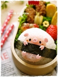 Little Pig Onigiri Roll