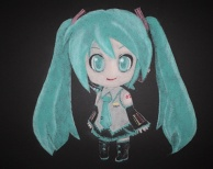 Art With Salt - Hatsune  Miku