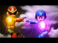 Rockman and Transformers Stop motion : Go! Rockman! 衝吧!! 洛克人 !!!