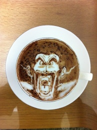 Latte art~Dragon Ball~
