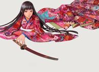 Kimono and Katana