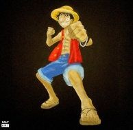 Art With Salt - Luffy