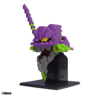 Nanoblock Eva Q Unit-01 (Head)