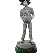 Goku T-Shirt and Figure - Dragon Ball Z Kai x BANDAI x MANGART BEAMS T