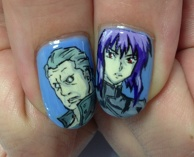 GHOST IN THE SHELL. ITA-nail.