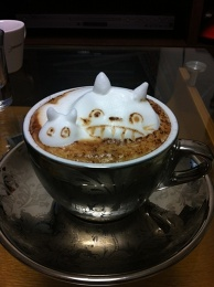 3D-latte art ~Totoro~