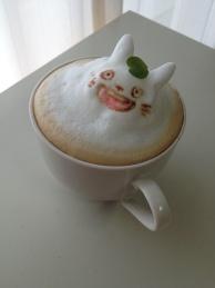 3D Latte Art of Totoro