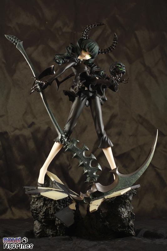 Black Rock Shooter Dead Master FROM JAPAN Figure Good S... animation version