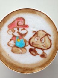Paper Mario and Goomba