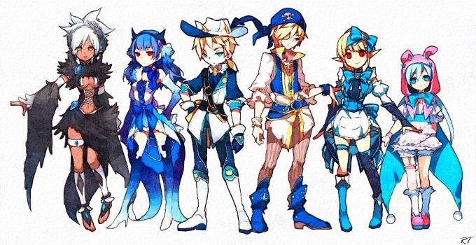 Dragon Nest Sea Character Dragon Nest Characters