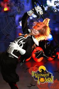Sora In Halloween Town