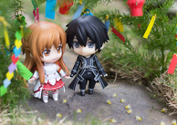 Kirito and Asuna on Tanabata