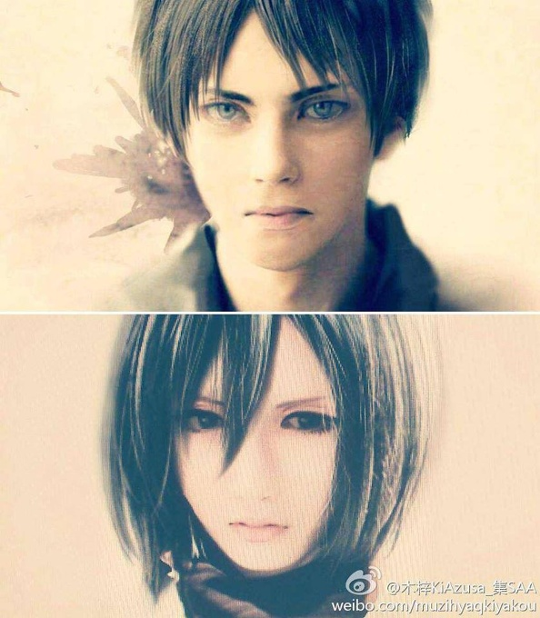 Eren and Mikasa Cosplay - Movies & Television - OneHallyu