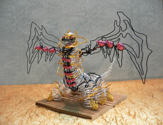 Wire Craft Giratina In Altered Form No Translation
