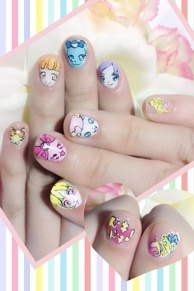 Dokidoki! PreCure Nails!