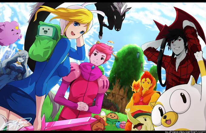 Genderbent Adventure Time | Tokyo Otaku Mode Gallery