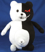 """Danganronpa: The Animation"" Plush Monokuma 2S"