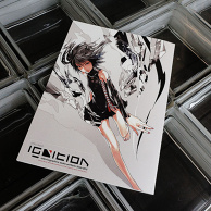 "Redjuice Doujinshi ""IGNITION redjuicegraphics works portfolio 2009-2010"""