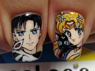 Sailor moon. ITA-nail.