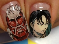 Attack on titan, ITA-nail