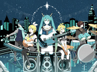Lightning Miku Band
