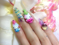 Hello Kitty Nails ♪