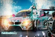 Miku racing queen 2012 Cosplay
