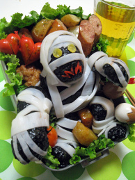 Male Mummy Bento (Dragon Quest) Halloween Edition