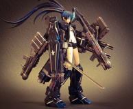 FULL ARMOR ★ BLACK ROCK SHOOTER