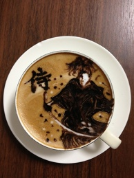 latte art~SAMURAI~